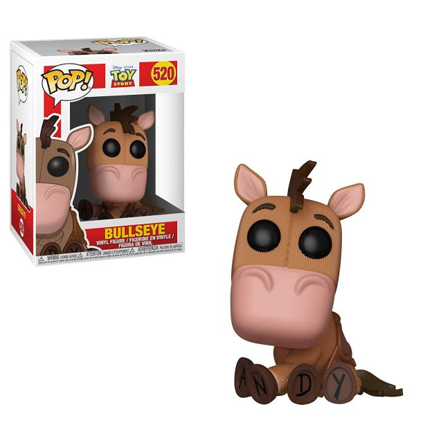 pile poil bullseye funko pop toy story disney pixar