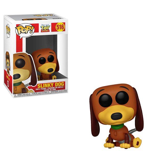 funko pop toy story disney pixar zig zag slinky dog