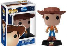 pixar disney funko pop toy story woody
