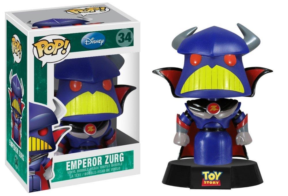 pixar disney funko pop toy story zurg