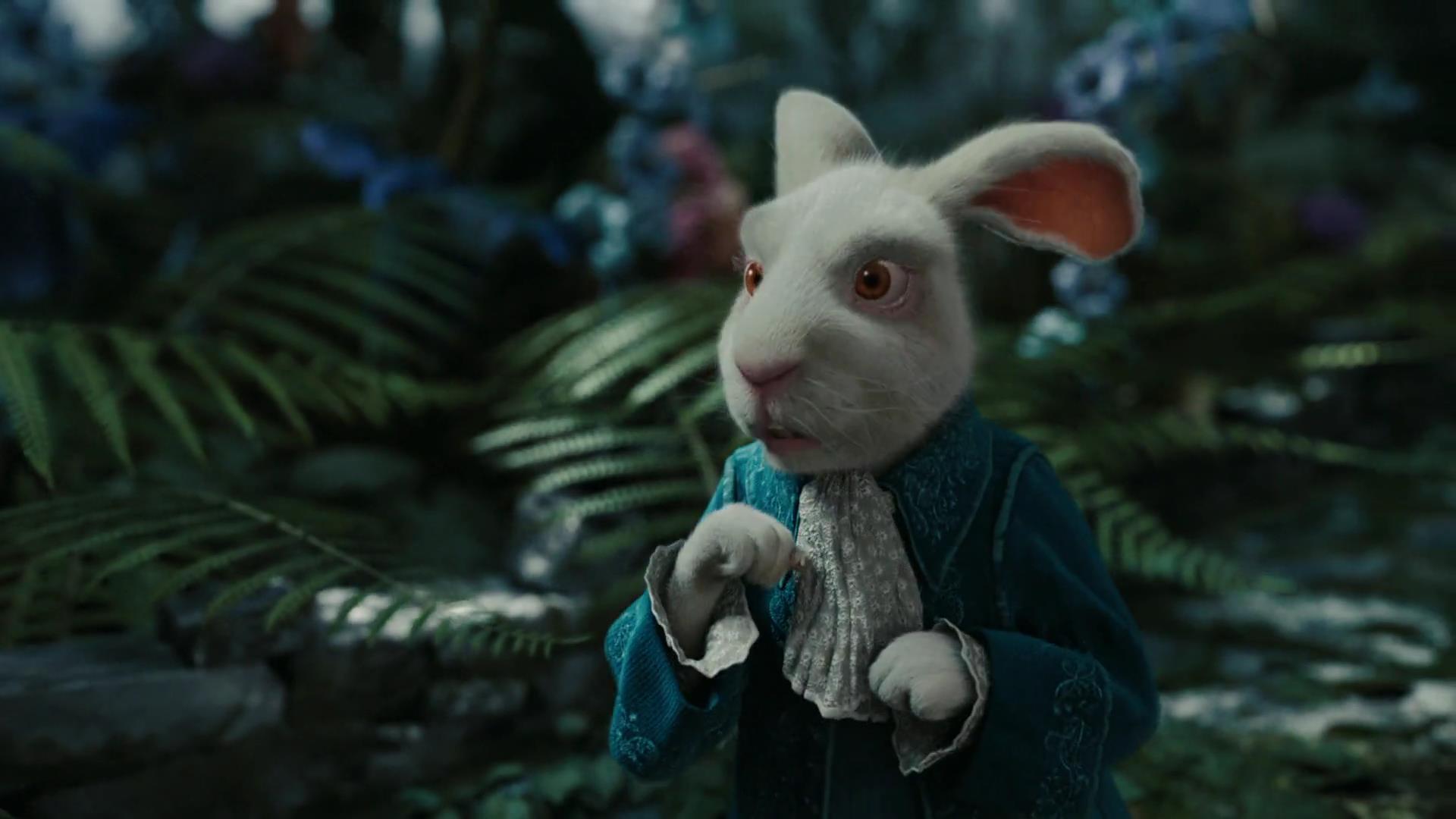 le lapin blanc personnage dans alice au pays des merveilles film 2010 disney planet. Black Bedroom Furniture Sets. Home Design Ideas