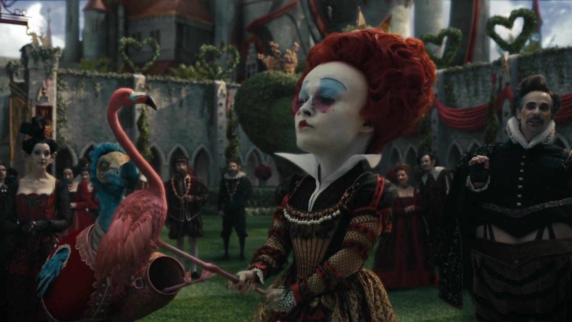 La reine rouge iracebeth personnage dans alice au pays des merveilles fi - Montre alice au pays des merveilles ...