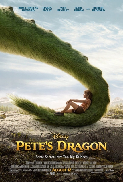 actu peter et elliott le dragon affiche disney