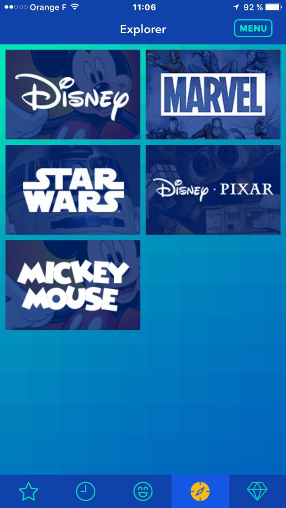 Disney Gif application