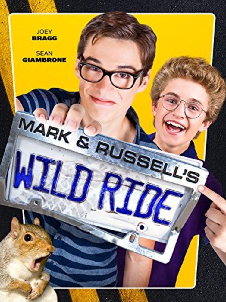 affiche poster aventure ouf mark russell wild ride disney