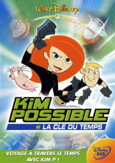 affiche poster kim possible clé temps sitch time disney