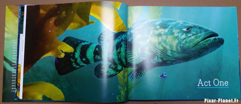 pixar disney art of finding dory monde livre book