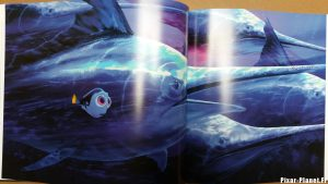 pixar disney art of finding dory monde livre book