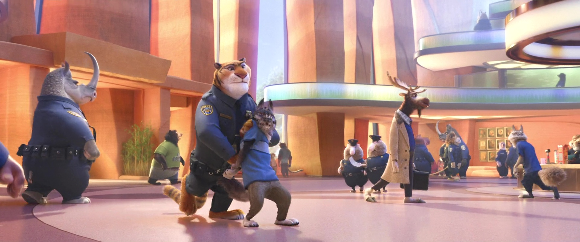 gromaire fangmeyer wolford disney personnage character zootopie zootopia