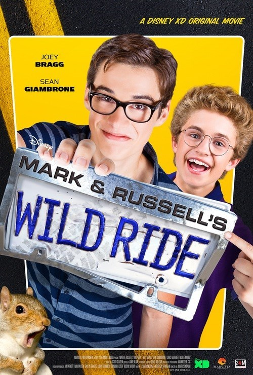 l'aventure de ouf de mark et russell disney xd original movie