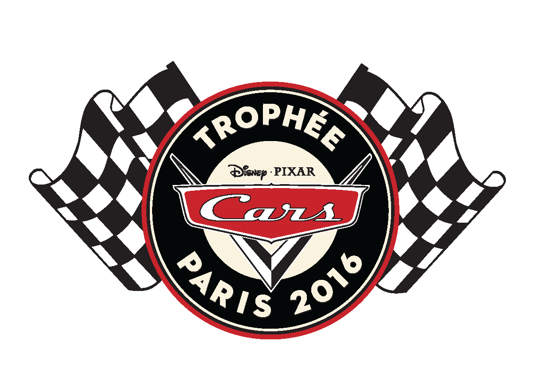 disney pixar logo trophée cars