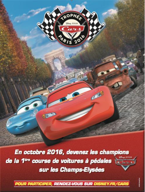 disney pixar trophée cars