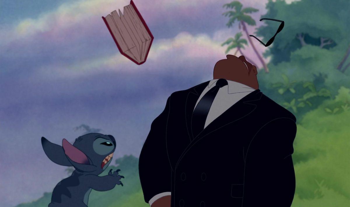Disney personanges lilo et stitch cobra bubbles