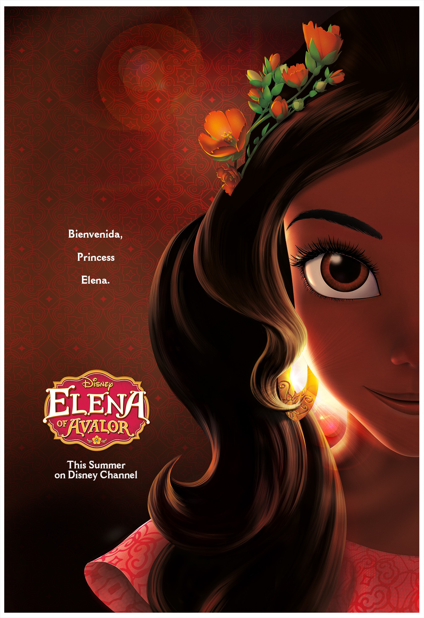 disney channel elena avalor affiche poster