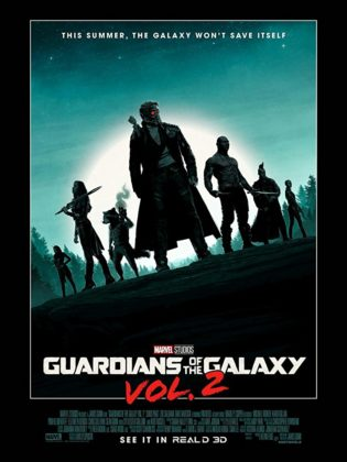 Affiche Poster Gardiens Galaxie Guardians Vol 2 Disney Marvel