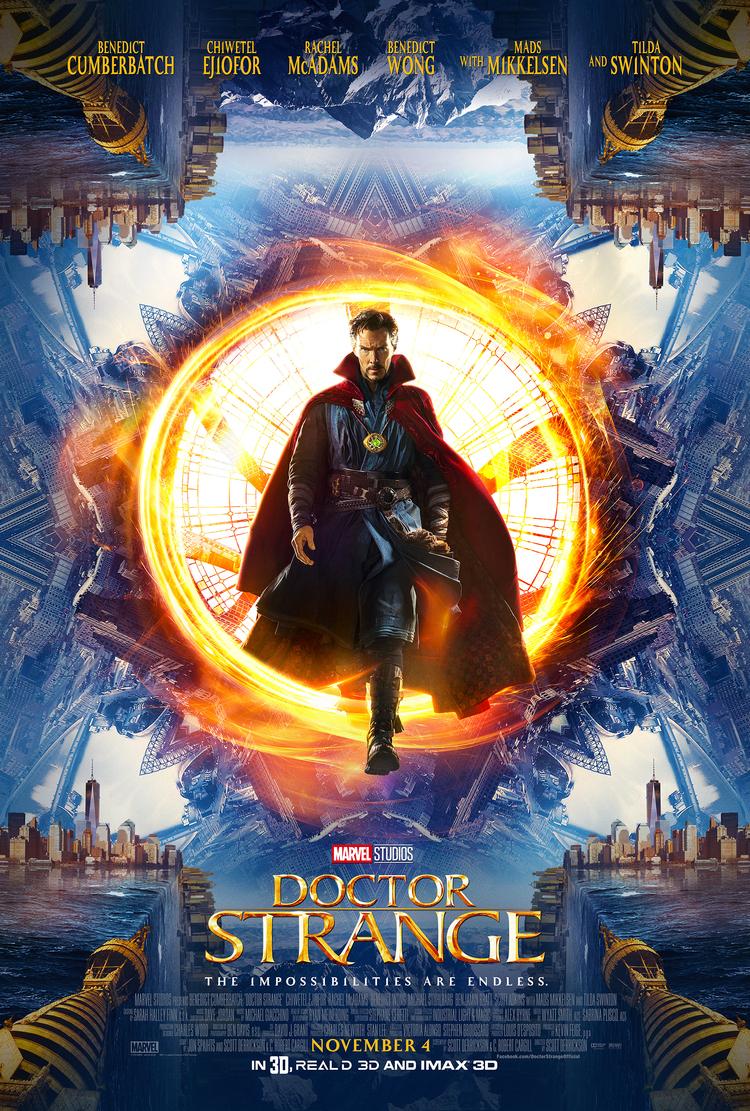 disney marvel doctor strange affiche poster