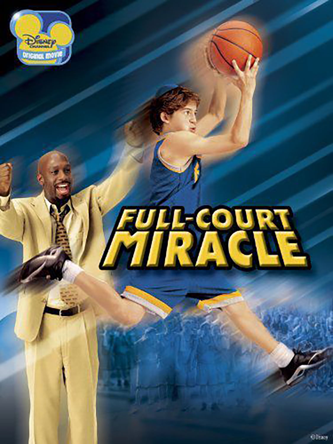 Affiche Poster nous jouer full court miracle disney channel