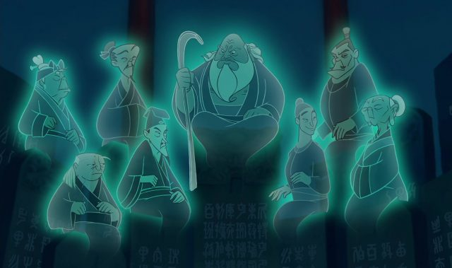 ancêtres ancestor fa family disney personnage character mulan