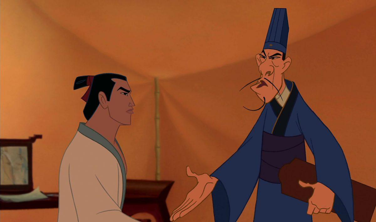 chi-fu disney personnage character mulan
