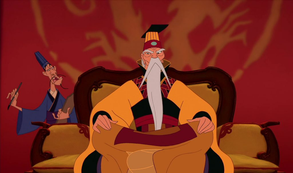 empereur chine emporor china disney personnage character mulanempereur chine emporor china disney personnage character mulan