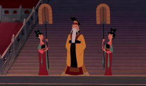 empereur chine emporor china disney personnage character mulan