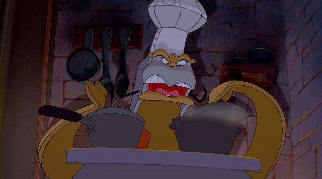 fourneau chef bouche stove personnage character disney la belle et la bête beauty and the beast