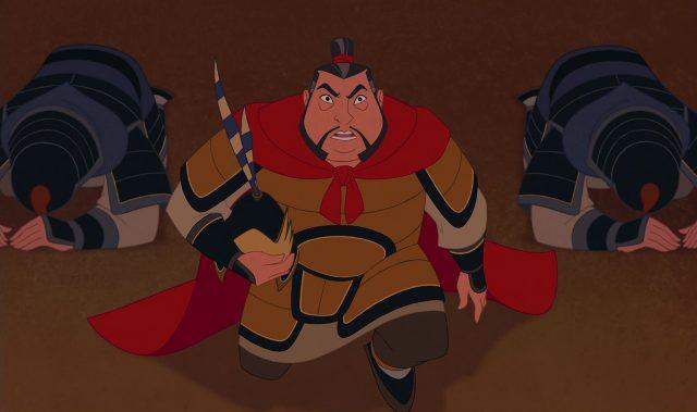 general li disney personnage character mulan