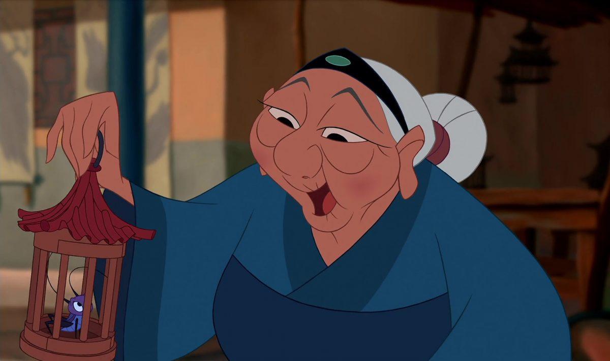 grand-mère fa grandmother disney personnage character mulan