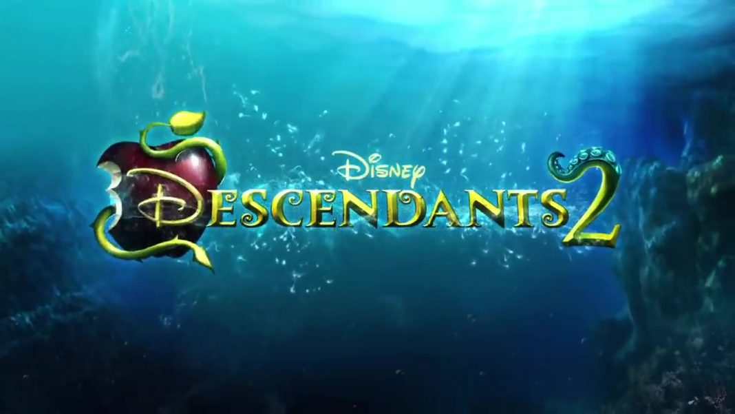 descendants 2 disney channel logo