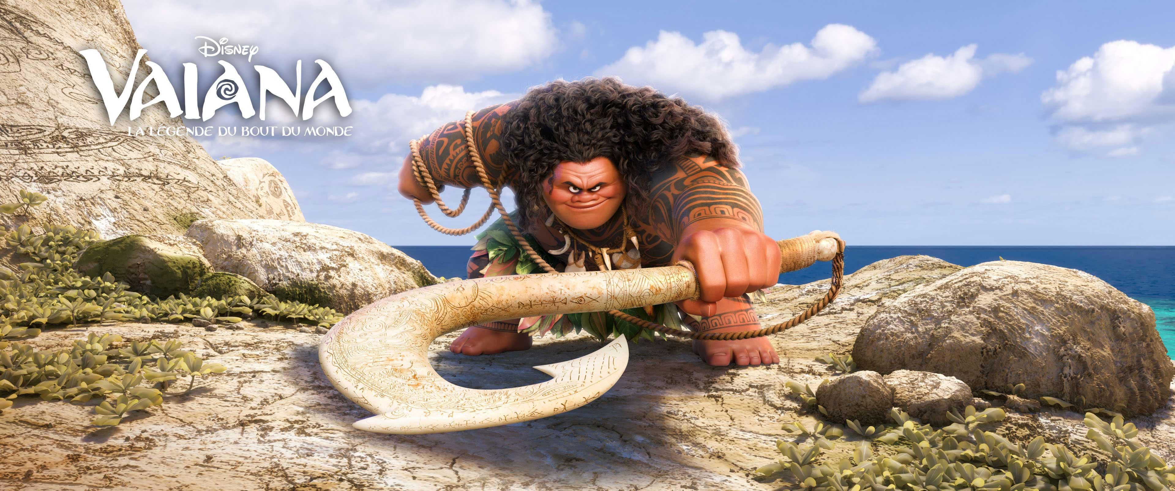 maui character disney personnage vaiana la légende du bout du monde moana