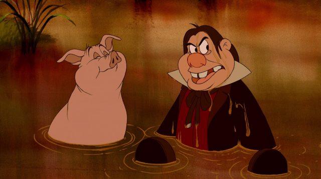 pierre pig personnage character disney la belle et la bête beauty and the beast