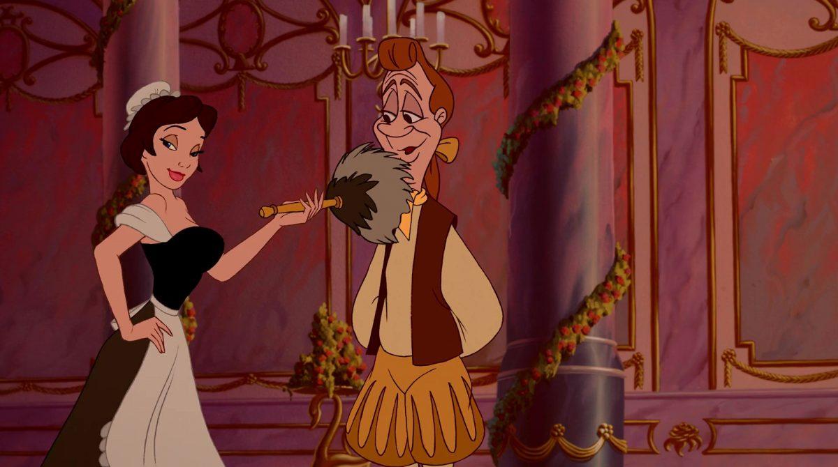 plumette personnage character disney la belle et la bête beauty and the beast