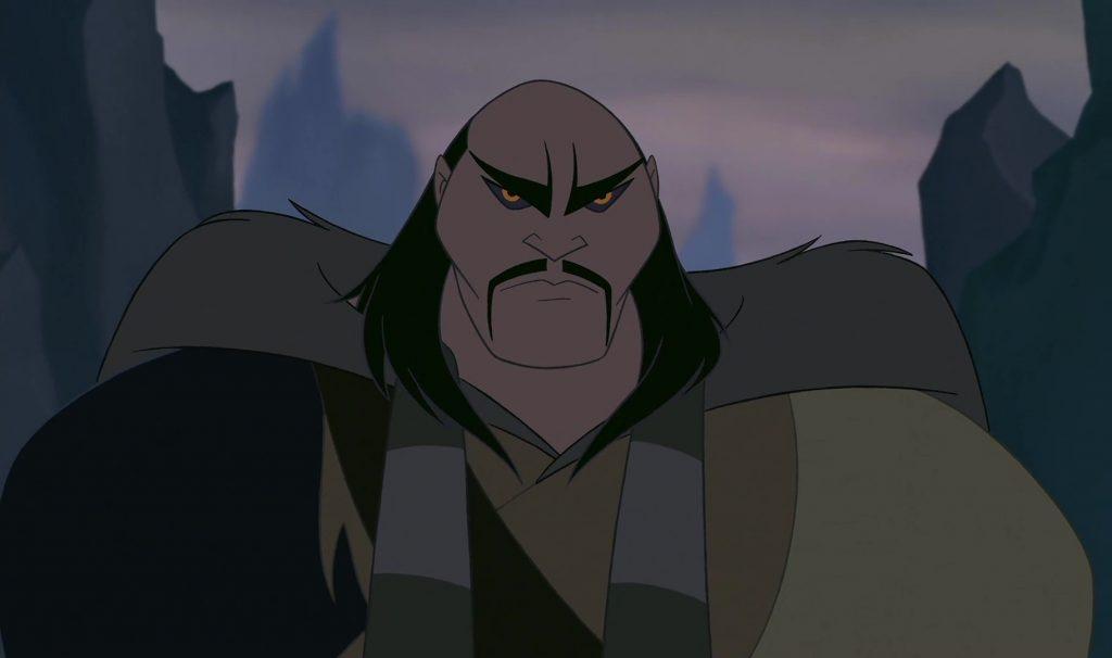 shan yu  disney personnage character mulan