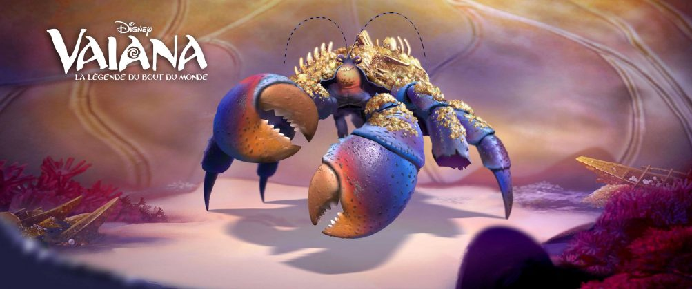 tamatoa character disney personnage vaiana la légende du bout du monde moana