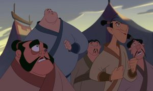 yao ling chien-po disney personnage character mulan