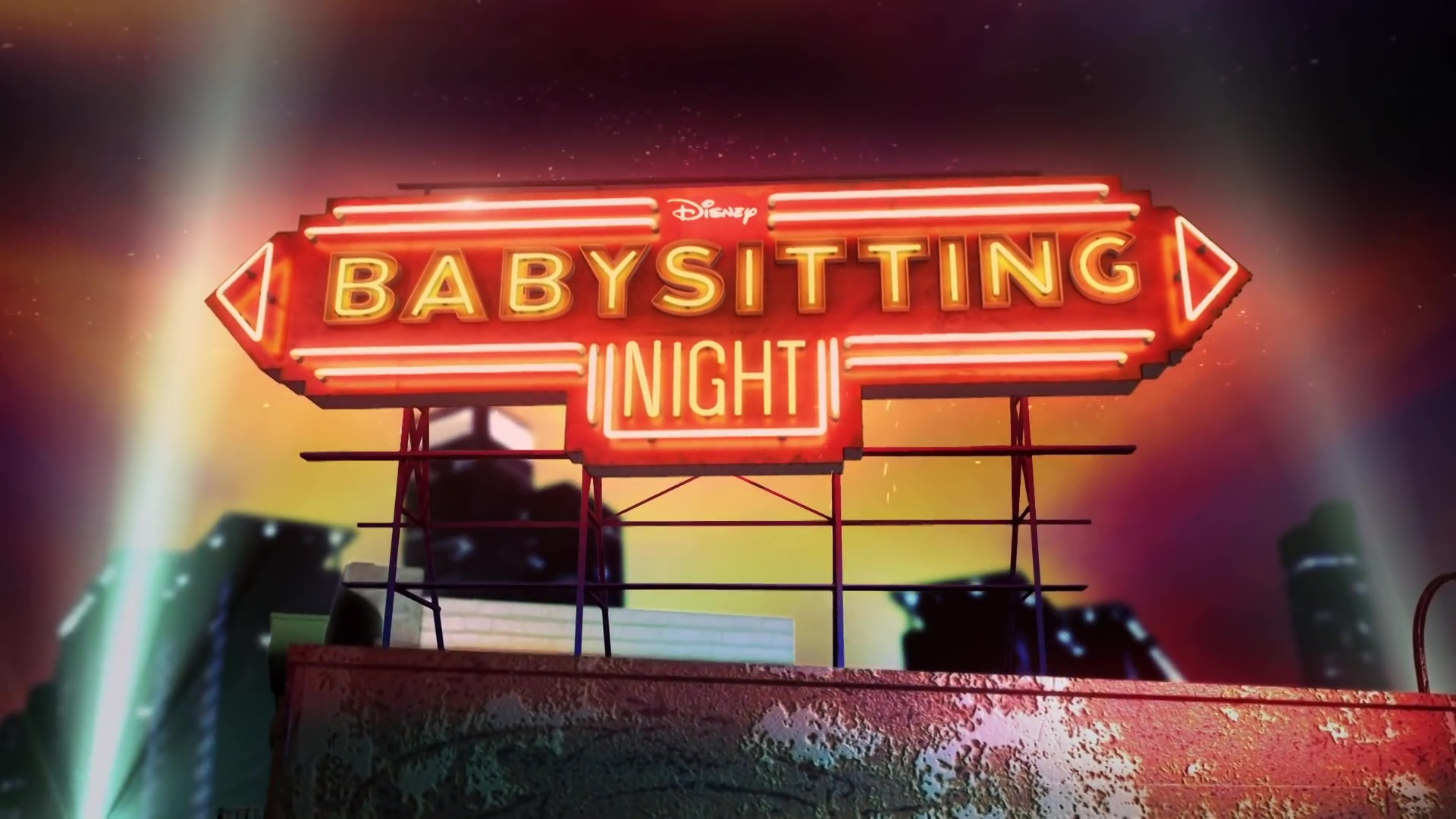 Disney actu trailer babysitting night
