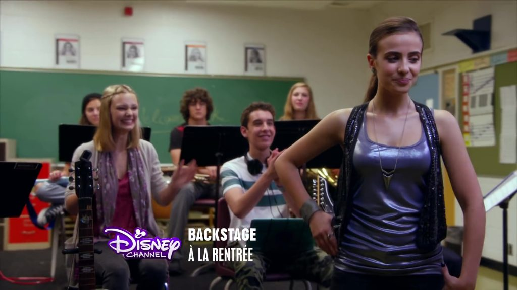 Disney Channel Backstage serie