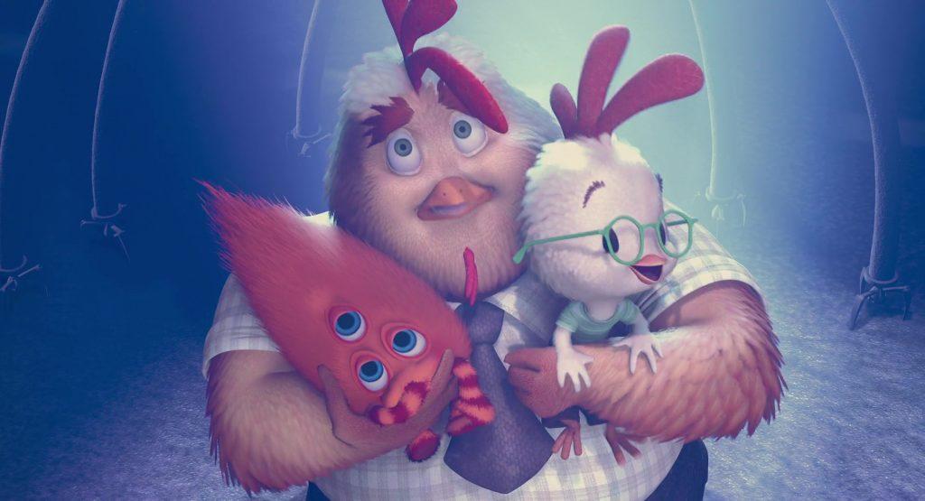 disney personnage Chicken Little Buck Cluck