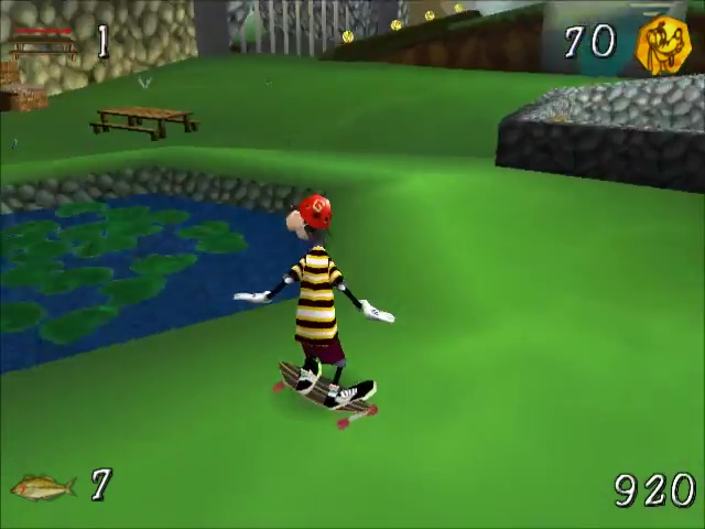 Disney jeu video dingo extreme skateboarding pc