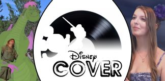 Disney Cover peter et elliott le dragon princess rizu candle on the water