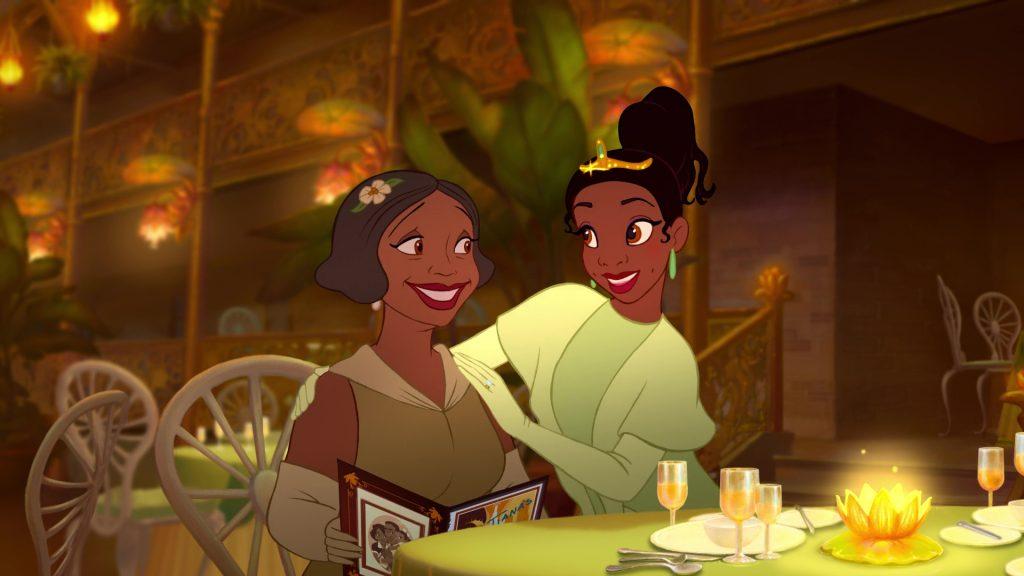Eudora disney personnage la princesse et la grenouille