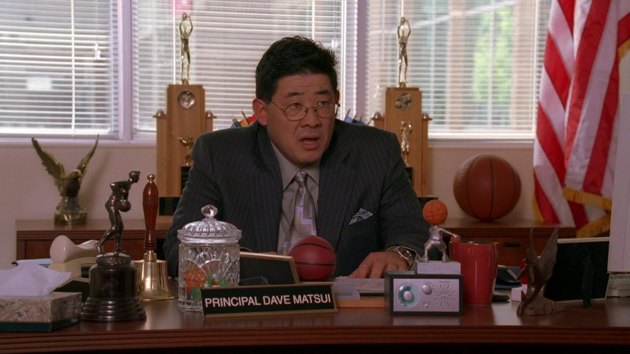 Disney Channel Original Movie personnage High School Musical Dave Matsui Principal