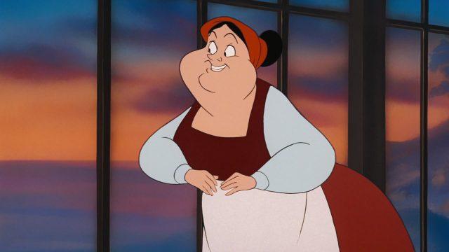 carlotta disney personnage character animation la petite sirène the little mermaid