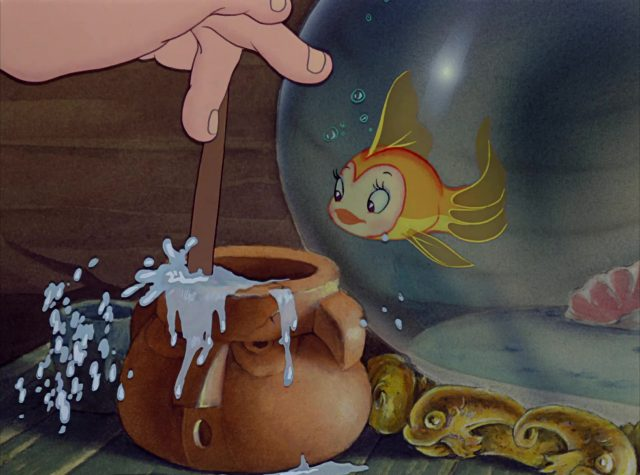cleo  poisson fish  disney personnage character pinocchio