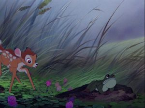 crapaud toad disney personnage character bambi