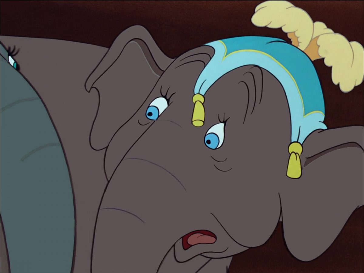 matriarch catty prissy giddy elephant disney personnage character dumbo