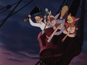 enfants perdus lost boys disney animation personnage character peter pan
