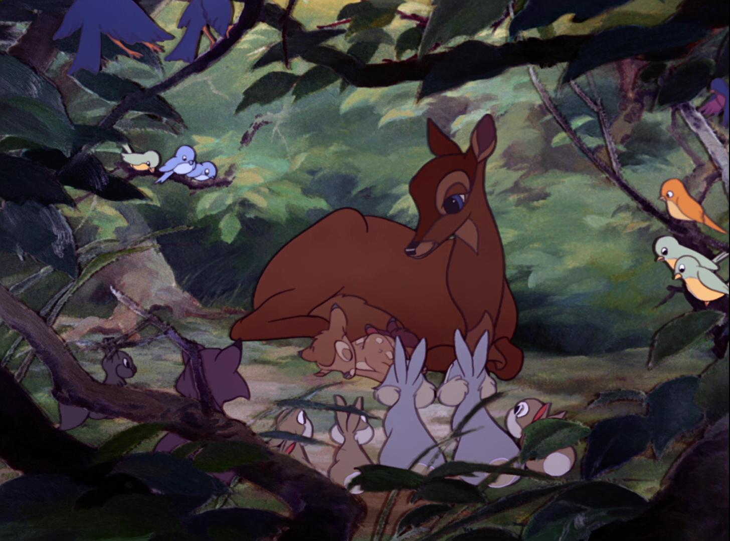 F 233 Line Personnage Dans Bambi Disney Planet
