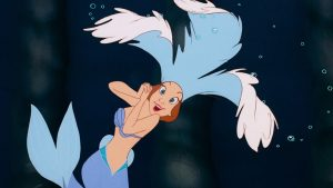 fille triton daughter disney personnage character animation la petite sirène the little mermaid