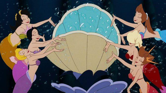 fille triton daughter disney personnage character animation la petite sirène the little mermaid